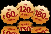 60, 120 o 180 EUR/anno