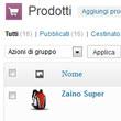 Con StyleShop e WooCommerce è facile gestire le vendite dall'interfaccia del pannello eCommerce del sito internet