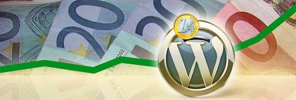 grafico di come wordpress aiuta a risparmiare denaro