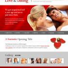 Realizzazioni Sito web per San Valentino