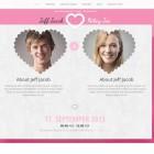 Sito web responsive per innamorati-rosa
