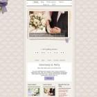 Vintage Wedding Theme - Realizzare un Sito web classico per matrimoni tradizionali