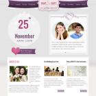 Il giorno del matrimonio in un sito web. Regalatelo come regalo di nozze!