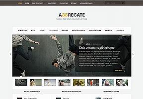Aggregate Theme Wordpress - Tema modello per realizzare il tuo sito internet