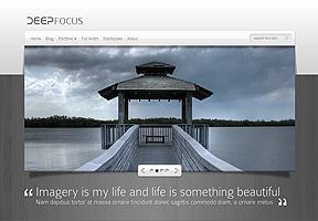 DeepFocus Theme Wordpress - Tema modello per realizzare il tuo sito internet