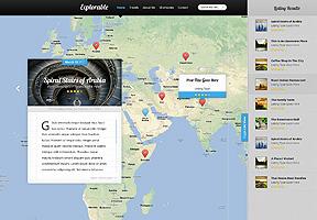 Explorable Theme Wordpress - Tema modello per realizzare il tuo sito internet