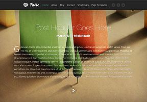Fable Theme Wordpress - Tema modello per realizzare il tuo sito internet