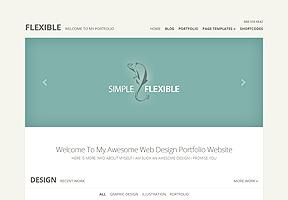 Flexible Theme Wordpress - Tema modello per realizzare il tuo sito internet