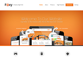 Foxy Theme Wordpress - Tema modello per realizzare il tuo sito internet