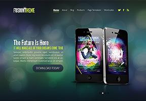 Fusion Theme Wordpress - Tema modello per realizzare il tuo sito internet