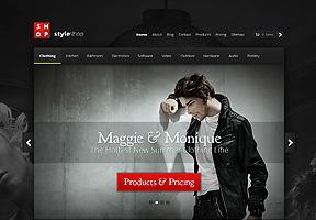 StyleShop Theme Wordpress - Tema modello per realizzare il tuo sito internet