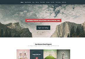 Vertex Theme Wordpress - Tema modello per realizzare il tuo sito internet
