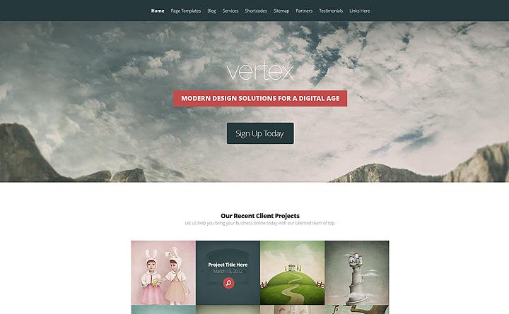 Un esempio di layout, pulito e razionale, per il tuo nuovo sito internet