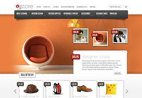 eStore Theme Wordpress - Tema modello per realizzare il tuo sito internet